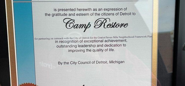 The Spirit of Detroit Award
